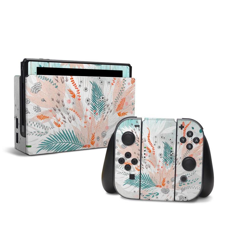 Tropical Fern Nintendo Switch Skin