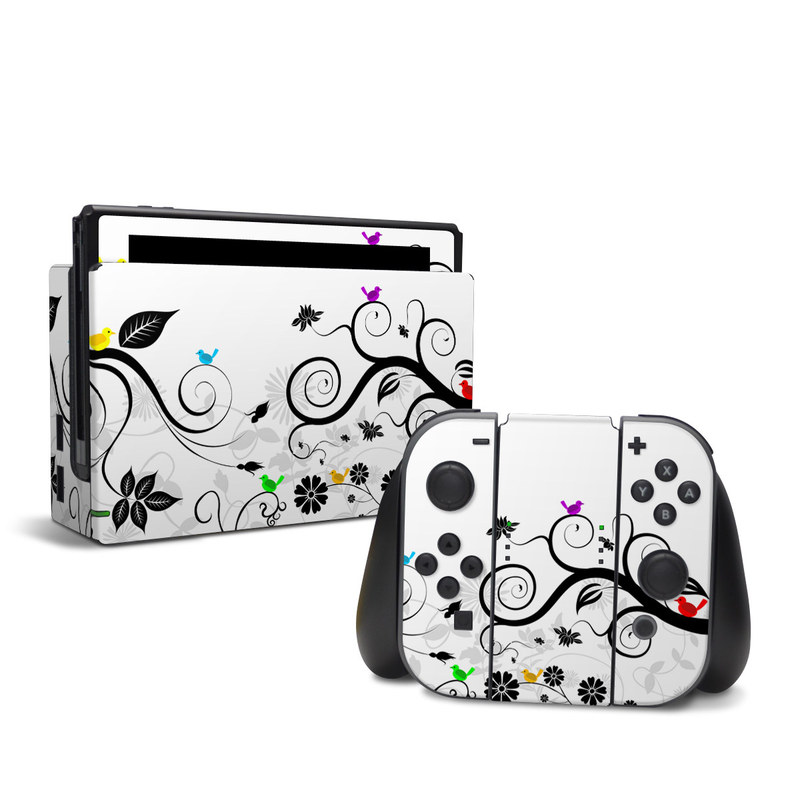 Tweet Light Nintendo Switch Skin
