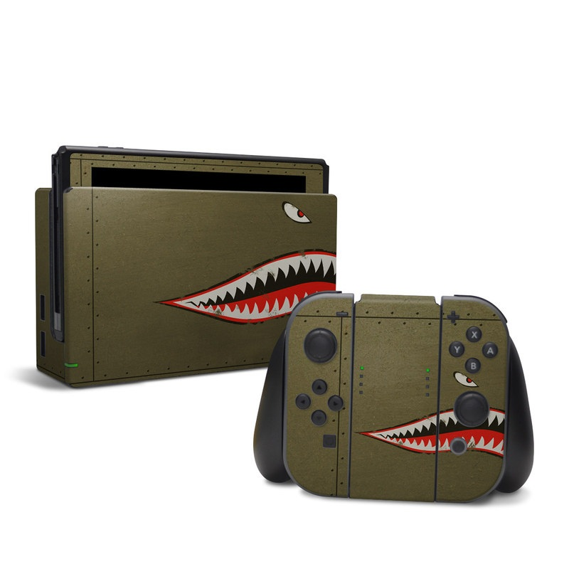 USAF Shark Nintendo Switch Skin