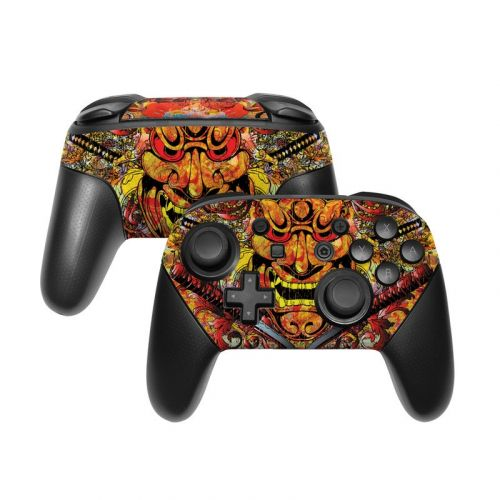 Asian Crest Nintendo Switch Pro Controller Skin