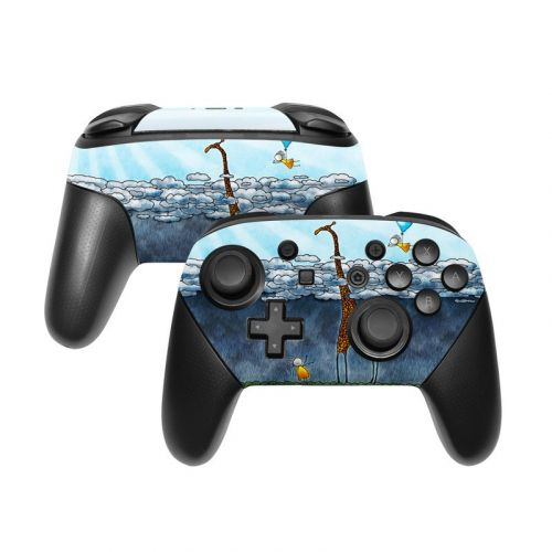 Above The Clouds Nintendo Switch Pro Controller Skin