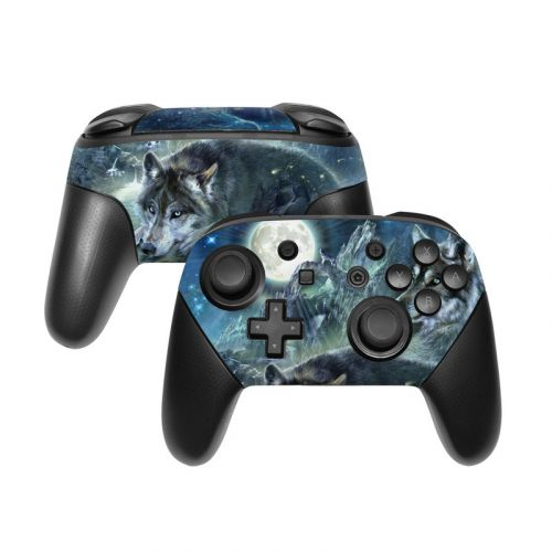 Bark At The Moon Nintendo Switch Pro Controller Skin