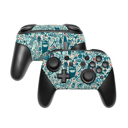 Committee Nintendo Switch Pro Controller Skin