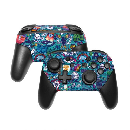 Cosmic Ray Nintendo Switch Pro Controller Skin
