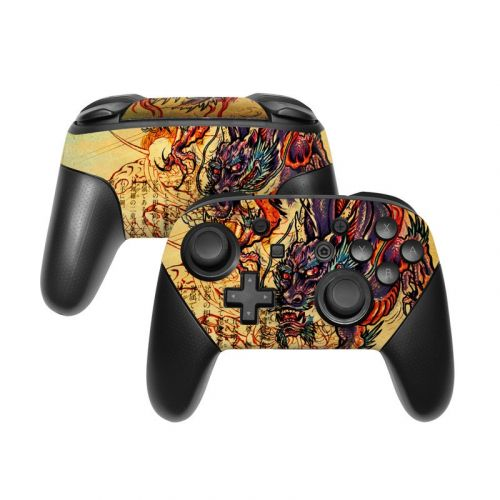 Dragon Legend Nintendo Switch Pro Controller Skin