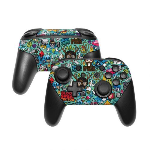 Jewel Thief Nintendo Switch Pro Controller Skin