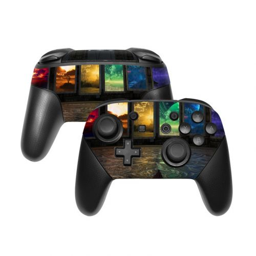 Portals Nintendo Switch Pro Controller Skin