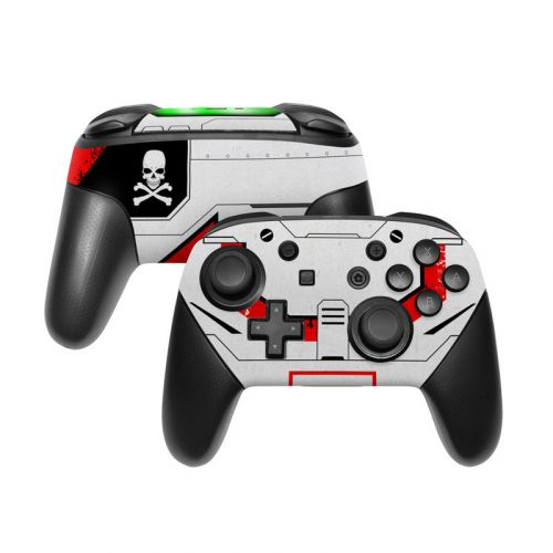 Red Valkyrie Nintendo Switch Pro Controller Skin