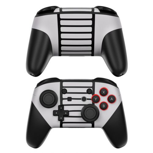 Retro Horizontal Nintendo Switch Pro Controller Skin
