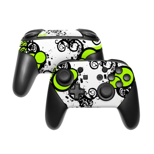 Simply Green Nintendo Switch Pro Controller Skin