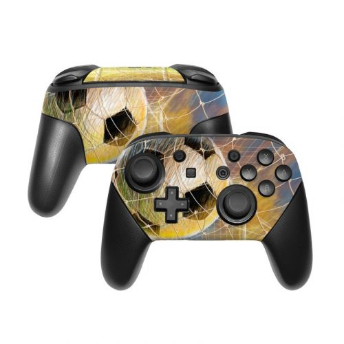 Soccer Nintendo Switch Pro Controller Skin