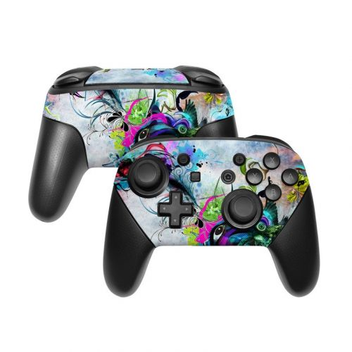 Streaming Eye Nintendo Switch Pro Controller Skin