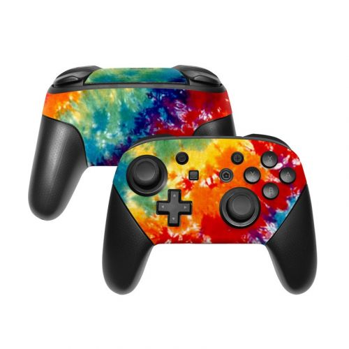 Tie Dyed Nintendo Switch Pro Controller Skin