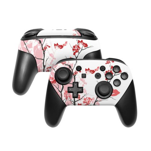 Pink Tranquility Nintendo Switch Pro Controller Skin