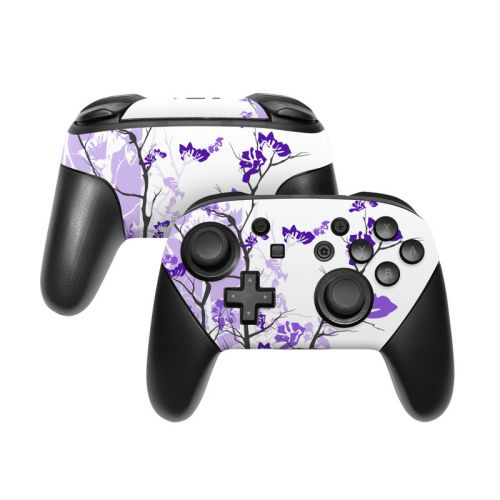 Violet Tranquility Nintendo Switch Pro Controller Skin