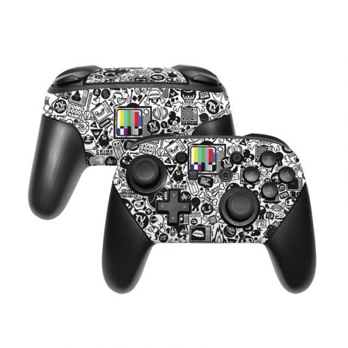 TV Kills Everything Nintendo Switch Pro Controller Skin