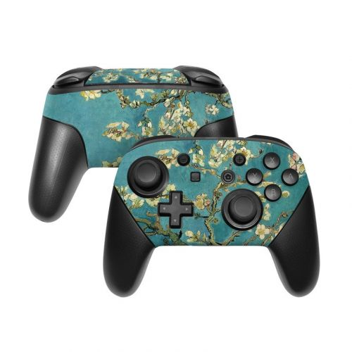 Blossoming Almond Tree Nintendo Switch Pro Controller Skin