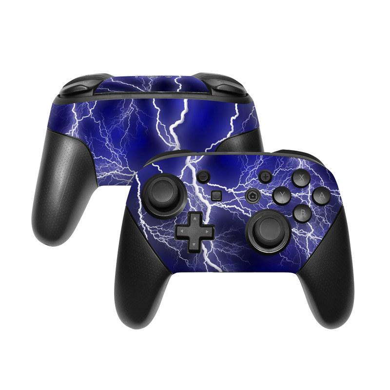 Apocalypse Blue Nintendo Switch Pro Controller Skin