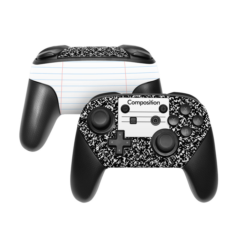 Composition Notebook Nintendo Switch Pro Controller Skin