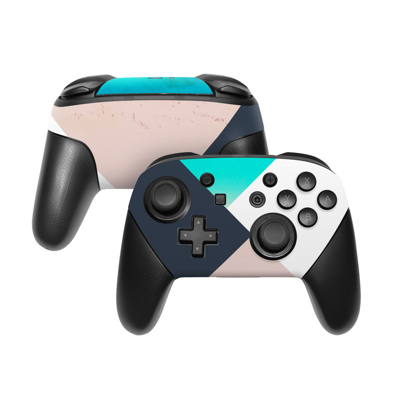 Currents Nintendo Switch Pro Controller Skin