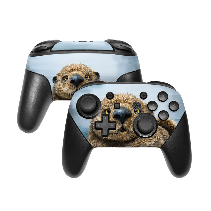 Otter Totem Nintendo Switch Pro Controller Skin
