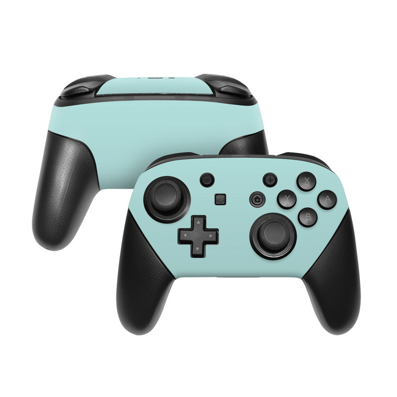 Solid State Mint Nintendo Switch Pro Controller Skin