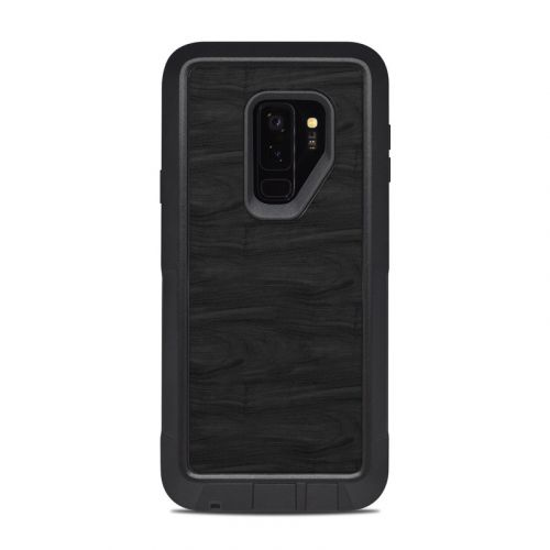 Black Woodgrain OtterBox Pursuit Galaxy S9 Plus Case Skin