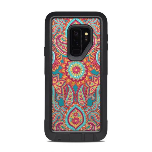 Carnival Paisley OtterBox Pursuit Galaxy S9 Plus Case Skin