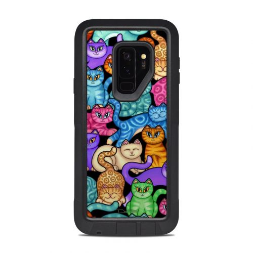 Colorful Kittens OtterBox Pursuit Galaxy S9 Plus Case Skin