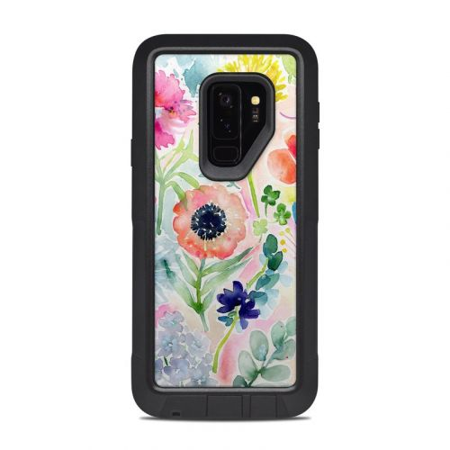 Loose Flowers OtterBox Pursuit Galaxy S9 Plus Case Skin