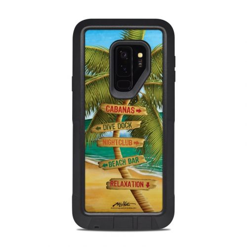 Palm Signs OtterBox Pursuit Galaxy S9 Plus Case Skin