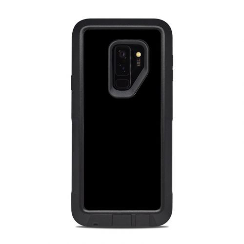 Solid State Black OtterBox Pursuit Galaxy S9 Plus Case Skin