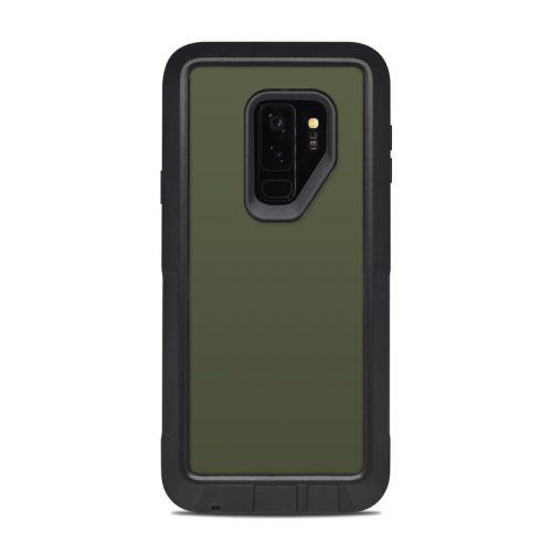Solid State Olive Drab OtterBox Pursuit Galaxy S9 Plus Case Skin