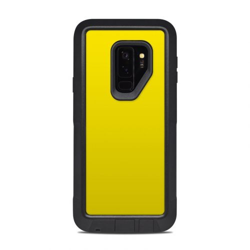 Solid State Yellow OtterBox Pursuit Galaxy S9 Plus Case Skin