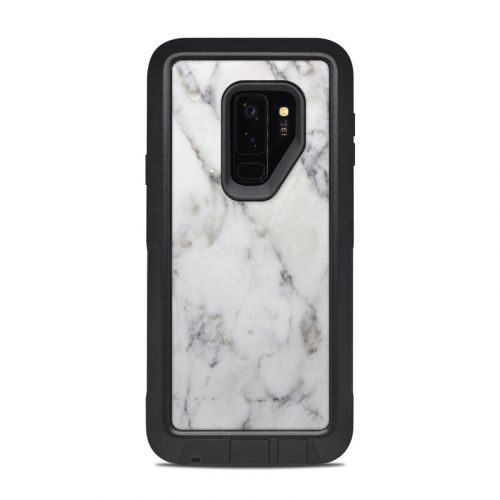 White Marble OtterBox Pursuit Galaxy S9 Plus Case Skin