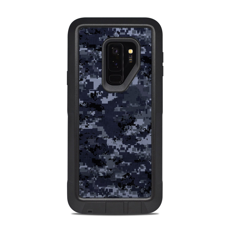 new products 555ef 74882 Digital Navy Camo OtterBox Pursuit Galaxy S9 Plus Case Skin