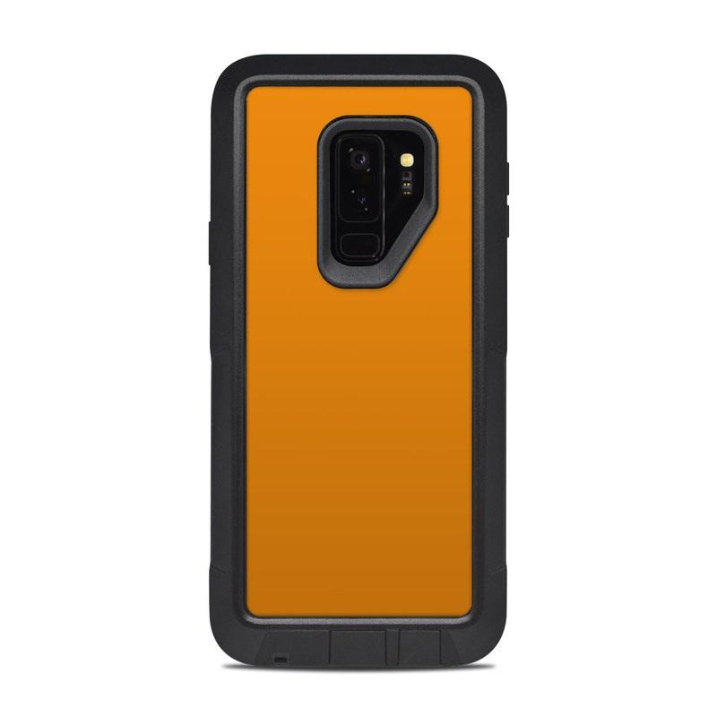 big sale cb3d3 53eb3 Solid State Orange OtterBox Pursuit Galaxy S9 Plus Case Skin