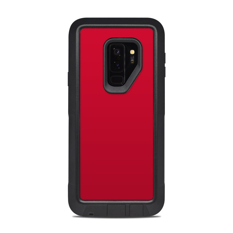 Solid State Red OtterBox Pursuit Galaxy S9 Plus Case Skin