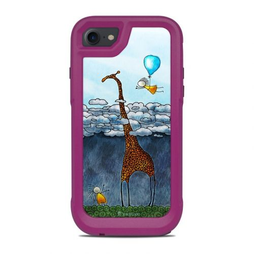 Above The Clouds OtterBox Pursuit iPhone 8 Case Skin