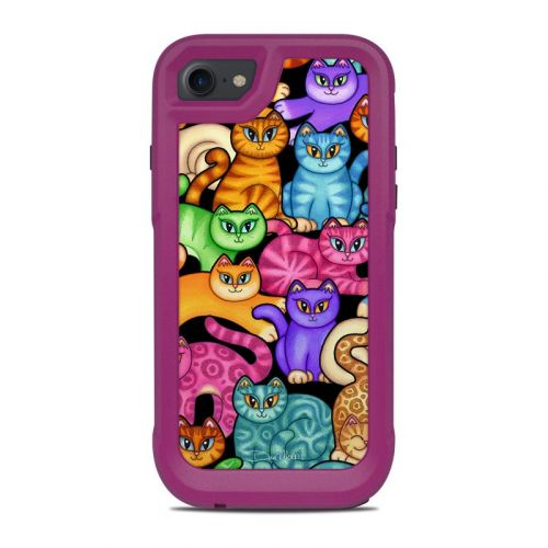 Colorful Kittens OtterBox Pursuit iPhone 8 Case Skin
