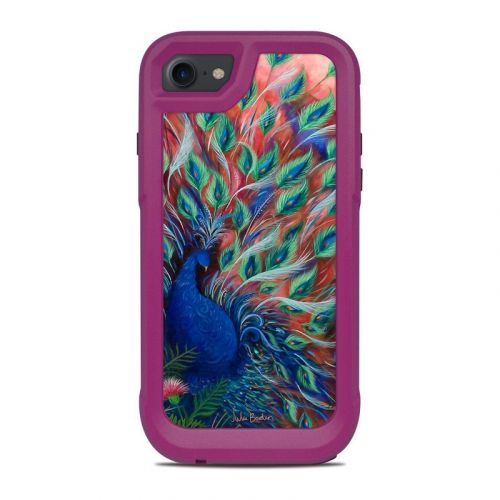 Coral Peacock OtterBox Pursuit iPhone 8 Case Skin
