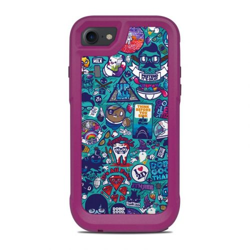 Cosmic Ray OtterBox Pursuit iPhone 8 Case Skin