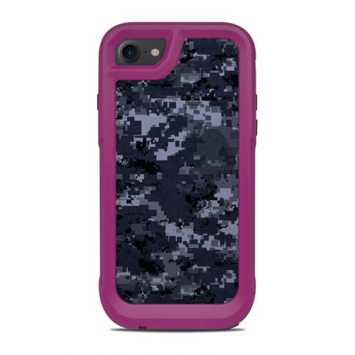 Digital Navy Camo OtterBox Pursuit iPhone 8 Case Skin