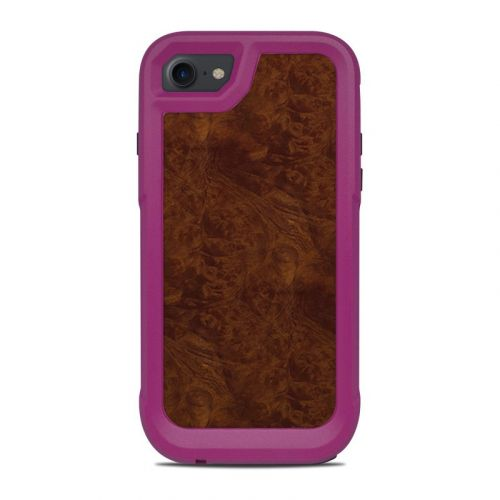 Dark Burlwood OtterBox Pursuit iPhone 8 Case Skin