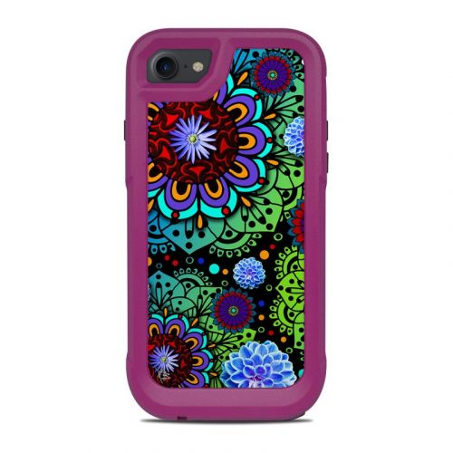 Funky Floratopia OtterBox Pursuit iPhone 8 Case Skin