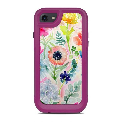 Loose Flowers OtterBox Pursuit iPhone 8 Case Skin