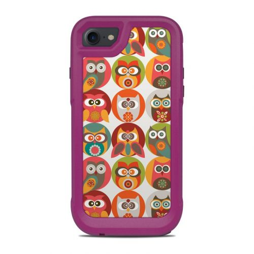 Owls Family OtterBox Pursuit iPhone 8 Case Skin
