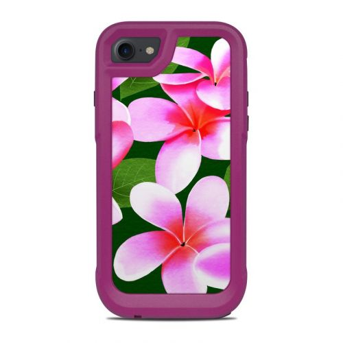 Pink Plumerias OtterBox Pursuit iPhone 8 Case Skin