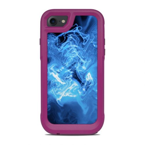 Blue Quantum Waves OtterBox Pursuit iPhone 8 Case Skin