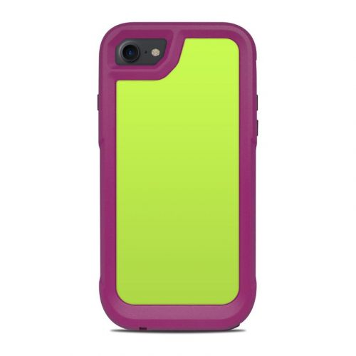 Solid State Lime OtterBox Pursuit iPhone 8 Case Skin